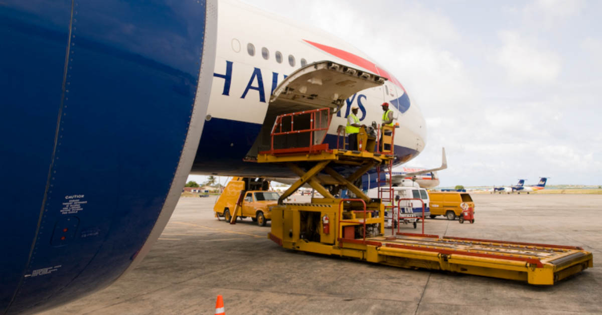 Airline loading services