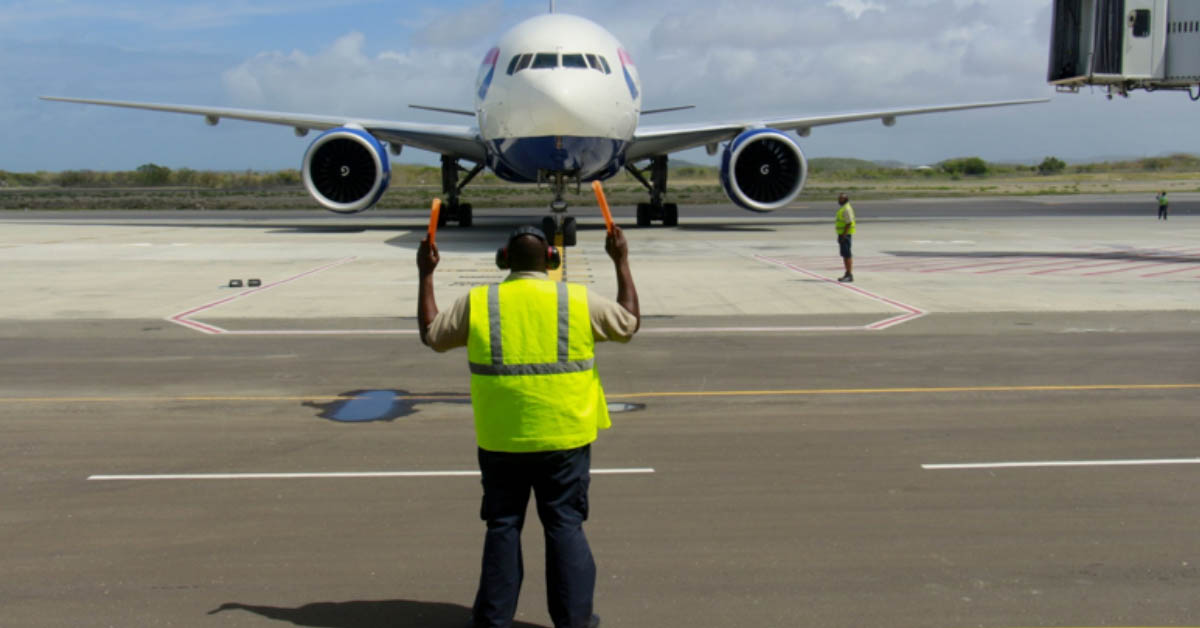 Airline marshalling services